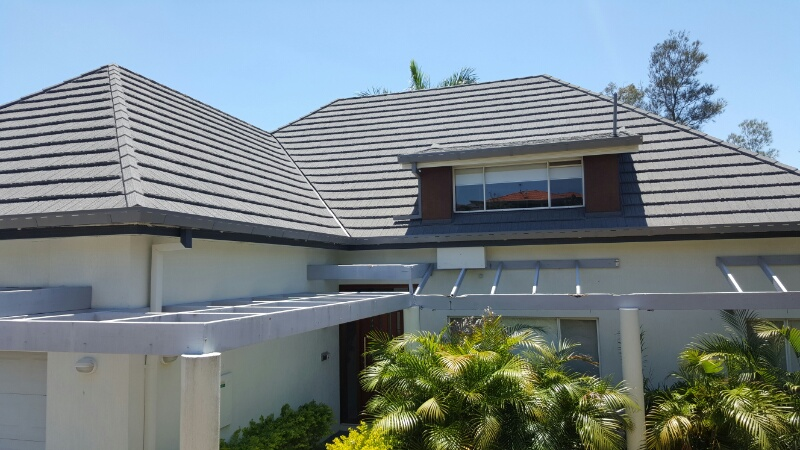 After Decramastic Roof Replacement Photo