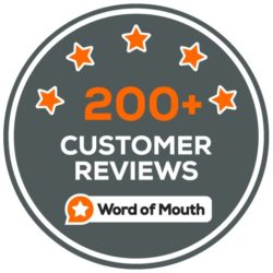 200 Customer Reviews Milestone WordOfMouth.com.au